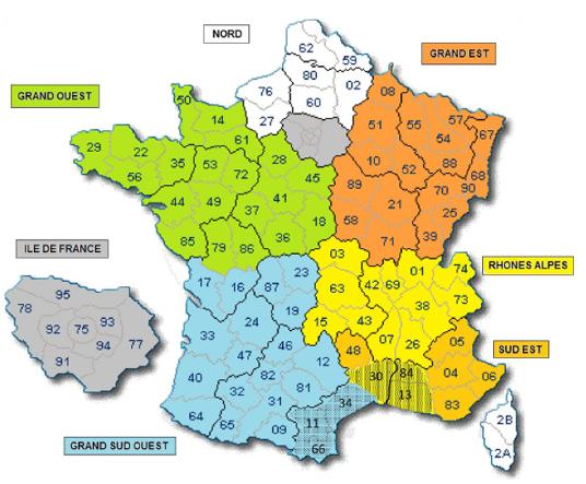Régions Protect France